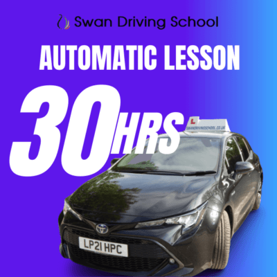 30 Hours Automatic Driving Lesson